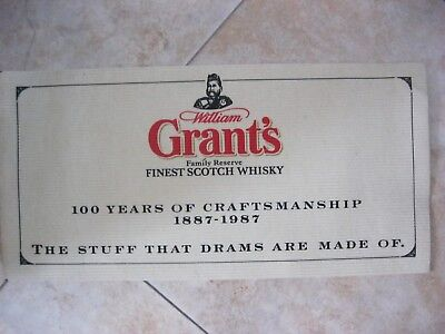 Grants Whisky Bartuch (Glenfiddich/WilliamGrant`s)