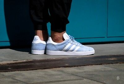 96351042ab9 ADIDAS Originals GAZELLE BABY BLUE Shoes Size 12 Argentina Messi World Cup