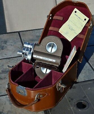 Bell & Howell D70 DR, 16mm, Movie Camera