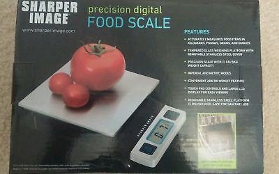 The Sharper Image Digital Food Scale 11-pound/5-kilogram Weight Watchers Tool