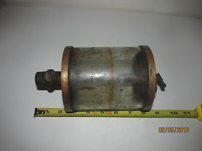 antique hit and miss engine oiler