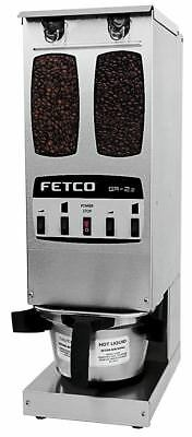Fetco GR-2.2 Portion Controlled Coffee Grinder Dual Hopper 2 Batches Commercial
