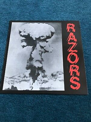 Razors Same LP Vinyl Rock O Rama Oi Punk
