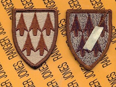 US ARMY 32nd ADA Air Defense Artillery Brigade Desert DCU uniform patch
