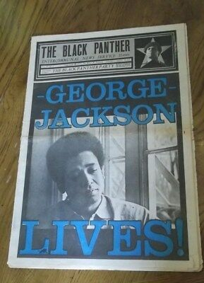 BLACK PANTHER PARTY NEWSPAPER ~ Volume VII,  #1  AUGUST 28, 1971 ~ See Pics!