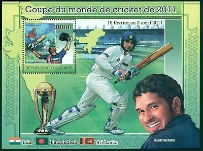 Togo MNH 2011 Cricket World Championship $$ CLEARANCE SALE