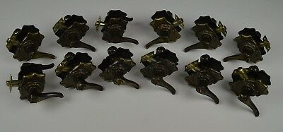 12 Amerock Bronze Antique Gold Carriage House privacy door handle lever sets