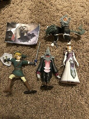 Legend of Zelda Twilight Princess Figures Yujin Gashapon Zant Midna Set of 4