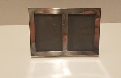 Vintage Sterling Silver Cartier Double Photo Frame