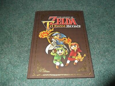 The Legend of Zelda Tri Force Heroes Video Game Hard Cover Book