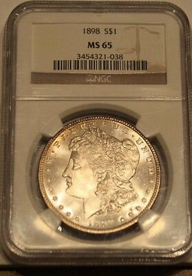 1898-P  MS 65 - Graded by NGC