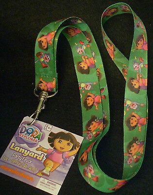 "Lot of 5 Nickelodeon Party Favor Lanyards 19"" Length Dora the Explorer & Boots"