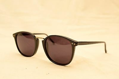 Vintage Cutler and Gross of London Black Sunglasses Model 0121 50-24
