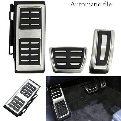 3 Pcs No Drill Foot Pedal Rest Brake For Left Hand Drive Car VW GOLF 7 GTI MK7