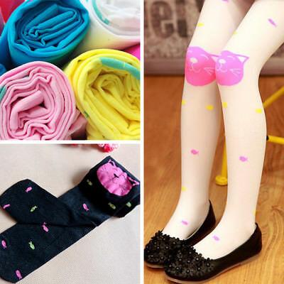 1 PC Soft Fashion Baby Stocking Accessories Cartoon Pantyhose Knitted Tights