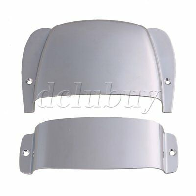 Chrome Zinc Alloy Pickup Bridge Cover Plate for PB Bass Guitar