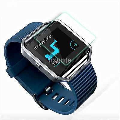 2PC Fitbit Blaze Smart Watch Tempered LCD Screen Protector HD Film Guard HOT