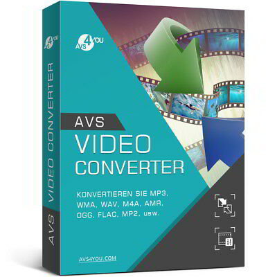 AVS Video Converter 10.0 deutsche Vollver. lifetime Download 34,99 statt 58,99 !
