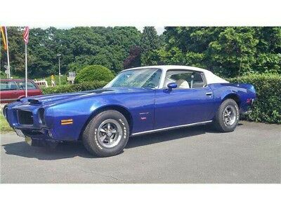 1973 Pontiac Firebird Californische US Erstauslieferung