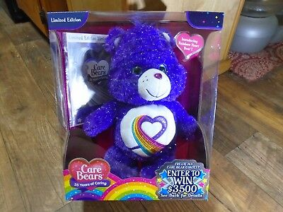 2017 Just Play--Care Bears--35 Years Of Caring Rainbow Heart--Limited Edition