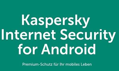 Kaspersky Internet Security 2019 Android Tablet 1 Gerät 1 Jahr 1 Device nicht Pc