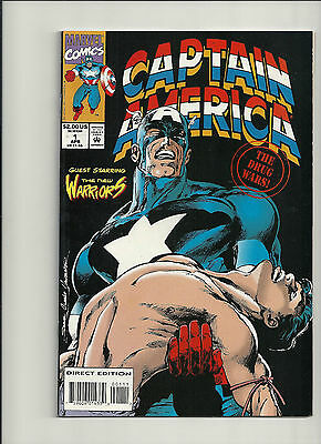 Captain America The Drugs War #1  NM