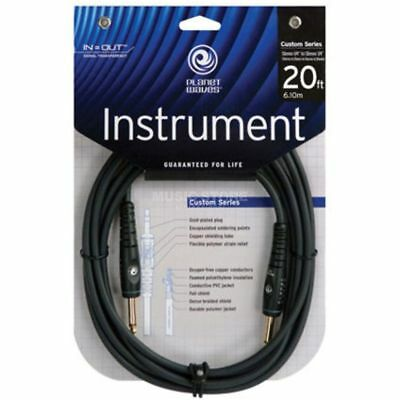 D'Addario Planet Waves D'Addario Planet Waves - PW-G-20 Instrumentenkabel 6m Cus