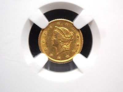 "1851 ""O"" $1 Gold Liberty Head NGC AU58 East Coast Coin & Collectables, Inc."