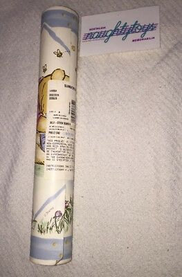 Wall Border Winnie The Pooh 1 Roll 5 yards Sunworthy Self Adhesive Nursery VTG