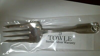 Ben Franklin by Towle Sterling Cold Meat Fork (large) Brand NEW