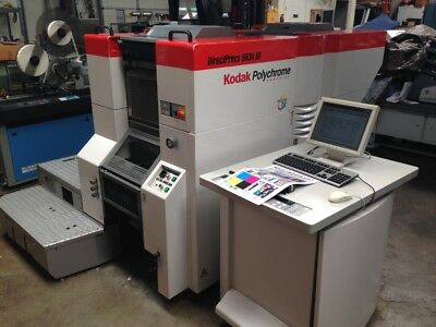KPG 5034 DI (Presstek Ryobi 3404 D)I (KPG 5634 DI) 4C, Waterless Press