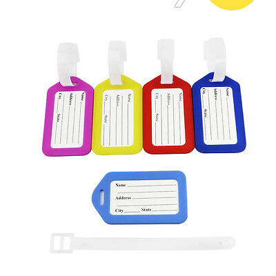 3Packs  Set  th-3102 Colors Luggage Tags Travel Suitcase Labels Bags Accessories