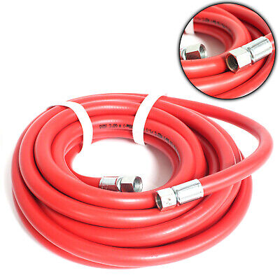 Sealey AHC5 Air Compressor Coil  Hose - Line 5mtr x 8mm With 1/4 Inch BSP Unions