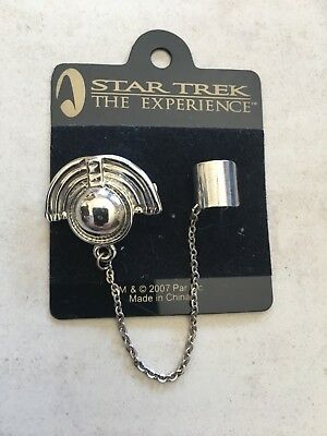 Star Trek The Experience Las Vegas Bajoran Ear Ring!
