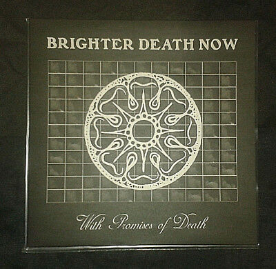 Brighter Death Now - With Promises Of Death LP, Genocide Organ, NON, Prurient