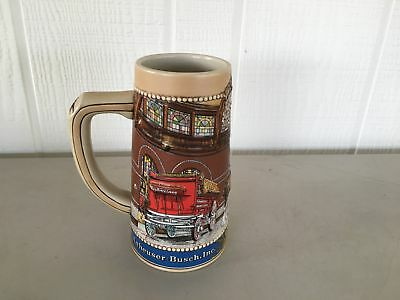 Anheuser-Busch Clydesdale Stables In St. Louis Beer Stein
