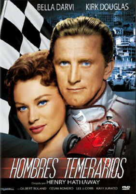 The Racers NEW PAL Classic DVD Henry Hathaway Kirk Douglas Bella Darvi G. Roland