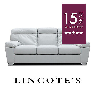 ALTO Italian Inspired High-Backed Modern Leather Sofas 3 + 2 Seaters + Armchairs