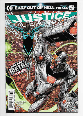 Justice League #33 Dark Nights Metal Tie-In Connecting Cover DC Comics Hot!