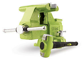 """Wilton Special Edition 6.5"""" Utility Bench Vise and B.A.S.H Sledge Hammer 1128BSH"""
