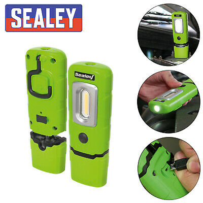 Sealey Rechargeable 360° Inspection Lamp Green - Part No. LED3601G
