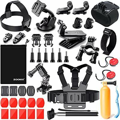 Zookki Sports Accessories Kit for GoPro 6 HERO5 Black 4 Silver Hero 3 Outdoo...