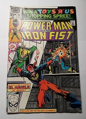Power Man and Iron Fist  #65...Published Oct 1980 by Marvel Comic/Comics