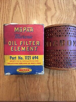 1937 Plymouth, Dodge Oil Filter
