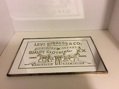 Vintage Levi Strauss & Co. San Francisco Cal. Original Riveted Quality Clothing