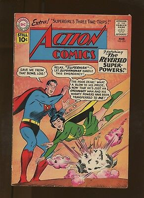 Action Comics 274 FN 5.5 * 1 Book * Superman! Supergirl in Time! Jerry Siegel!