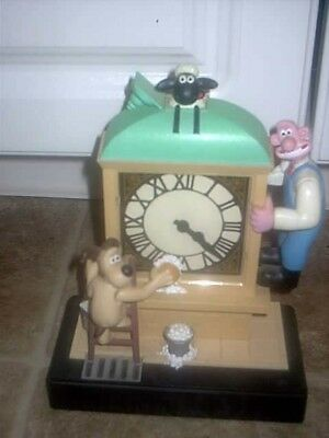 Wallace And Gromit Animated Alarm Clock 1998 Wesco