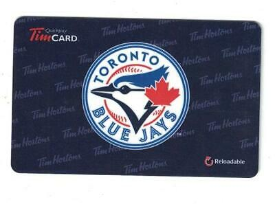 ( 2 ) Toronto Blue Jays MLB Tim Hortons Gift Cards