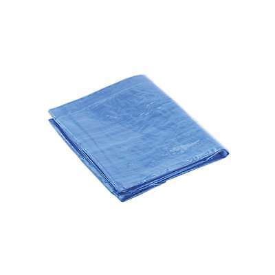 Sealey Tarpaulin 2.44 x 3.05mtr Blue Tarpaulins Trailer Accessories DIY Tools
