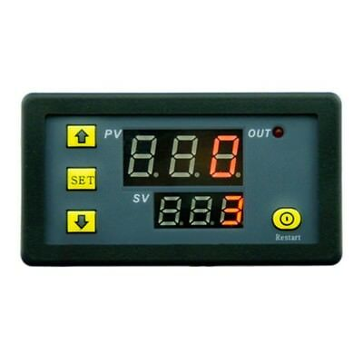 DC12V 1500W 0-999H Digital Display Time Delay Relay Timing Cycling Module O4L5